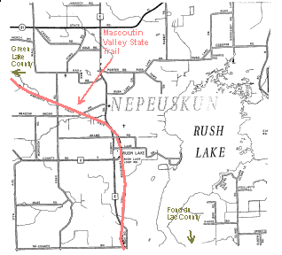 Mascoutin Valley State Trail Map