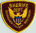 Sheriff Dept. Outagamie County Wisconsin